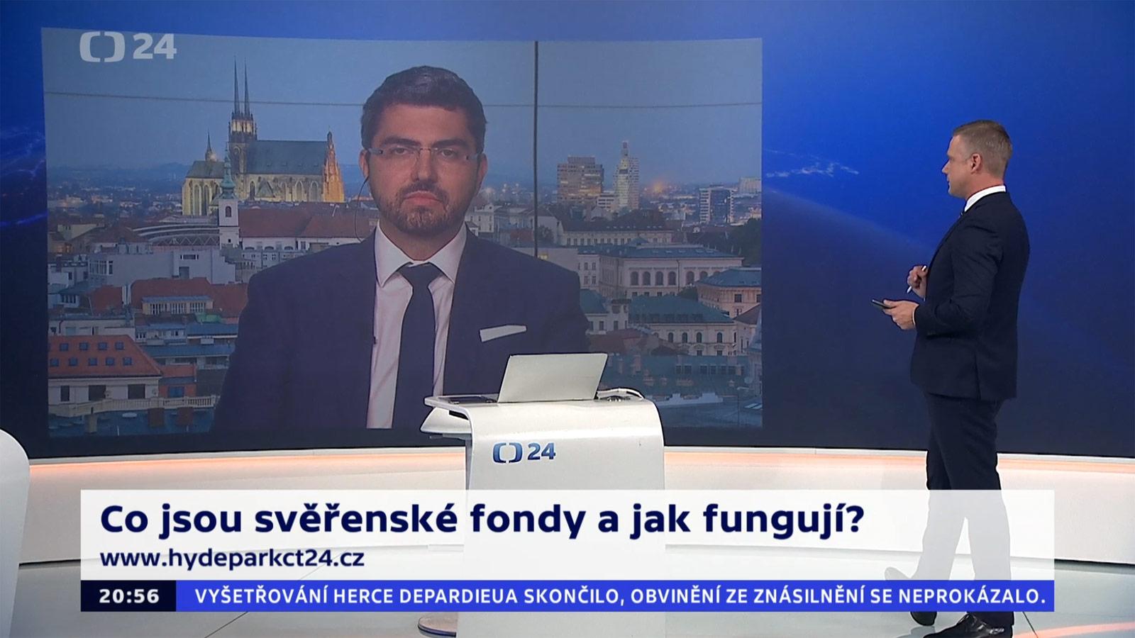 Marek Nechvátal v rozhovorech v České Televizi
